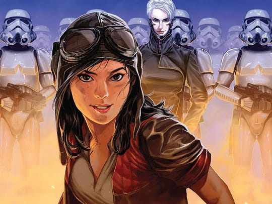 An archaeologist who works for Darth Vader, Dr. Aphra