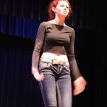 """Echo Patriquin performs as Helena in """"A Midsummer Night's Dream"""" as a part of the Edinburgh Fringe Festival."""