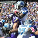 Josh Katzenstein's midseason Lions report card: As much as the Lions have benefited from an easy schedule and poor decision-making by their opponents, the team deserves credit for creating opportunities to win. At the midway point of the season, the Lions are 6-2 and enter the bye week having won five of their past six games. Here's the midseason report card: