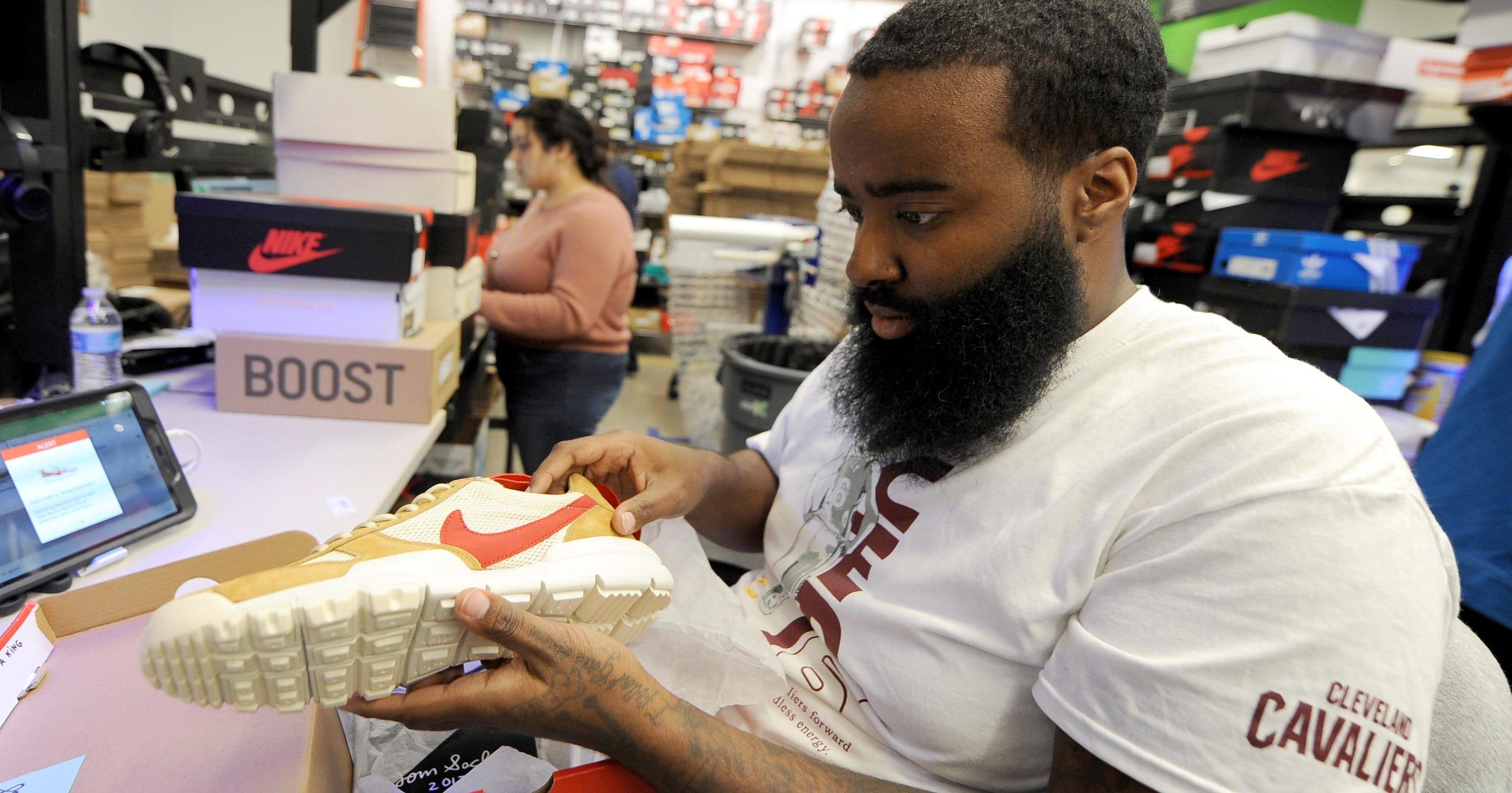1cce63b1c Detroit-based online sneaker market s stock soaring