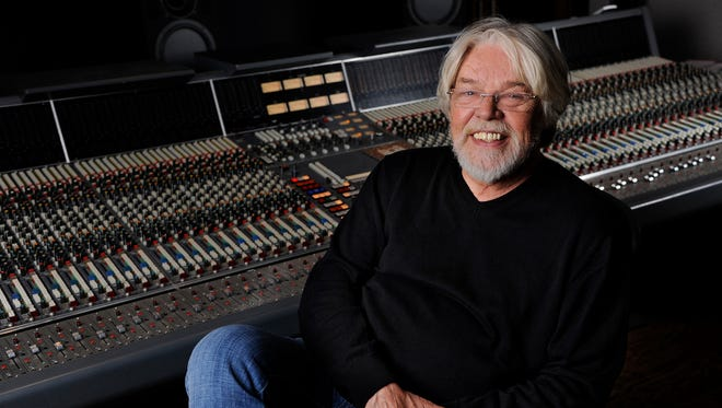 Singer Bob Seger poses for a portrait in a Capitol Records studio on Oct. 16, 2014, in Los Angeles. The singer announced Friday, June 16, 2017, that 13 albums can be streamed on Spotify, Apple Music, Amazon Music, and other streaming services.