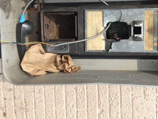 Cass Corridor pay phone