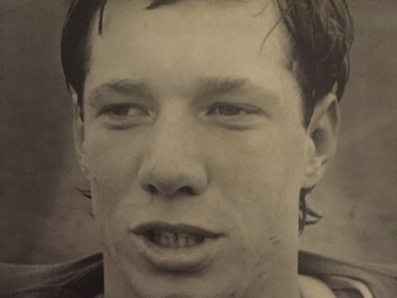 Manasquan quarterback Mark Loockenmeyer in 1975.