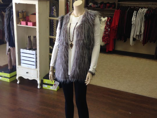 A casual holiday look from Shabby Chic Boutique in
