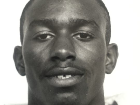 Asbury Park's Anthony Wright was a star on the football field and the basketball court for the Blue Bishops.