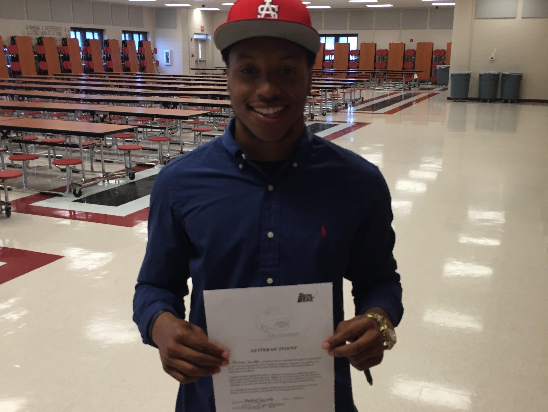Navarre shortstop Michael Sandle signed Wednesday with South Alabama baseball.