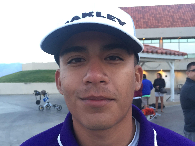 Erik Sanchez of Shadow Hills High School