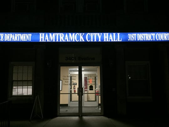 Hamtramck City Hall, photo taken on Sept. 26, 2017