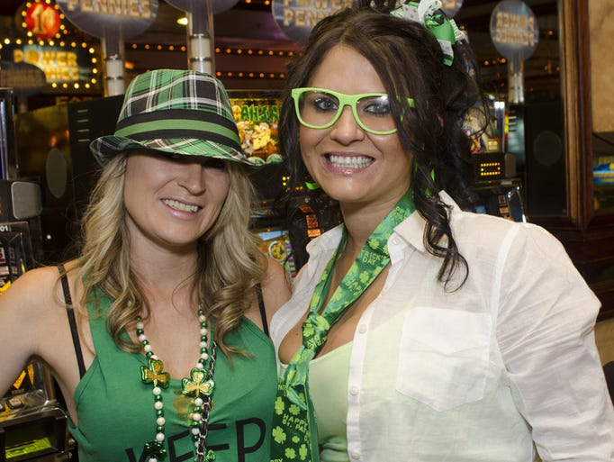 The Leprechaun Crawl took place on Saturday, March 15, 2014, in downtown Reno.