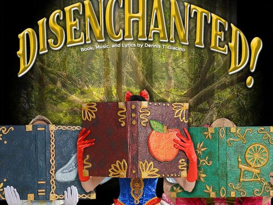 """Snow White and her posse of princesses are tossing their tiaras for """"Disenchanted!"""""""