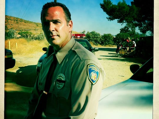 """David Jansen as Charming Police Officer Clemens on """"Sons of Anarchy."""""""