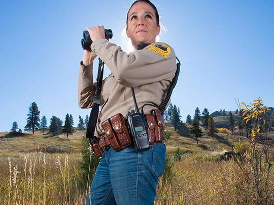 "Kqyn Kuka is a game warden for Montana Fish Wildlife and Parks. She is one of the game wardens featured on ""Wardens."""