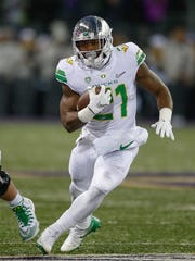 Oregon's Royce Freeman could be an option at running