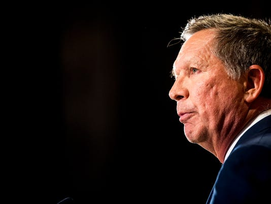 USP NEWS: KASICH SUSPENDS CAMPAIGN A ELN USA OH