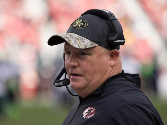 Chip Kelly was 46-7 in his four seasons as head coach