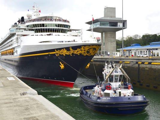 Disney Wonder Panama Canal