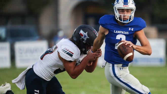 Lampasas quarterback Ace Whitehead and the No. 1 Badgers are back in action this week against Taylor after almost a month off because of coronavirus cancellations and a bye.