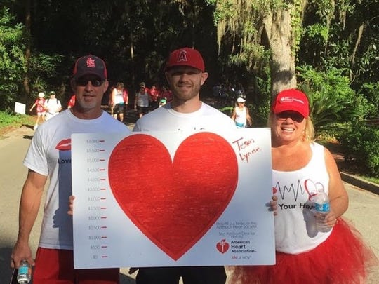 Lynne Troelstrup, a local heart attack survivor, helps raise awareness of heart disease with the American Heart Association.