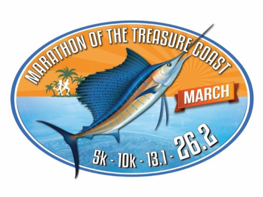 The Marathon of the Treasure Coast is set for March 3, 2019, in downtown Stuart.