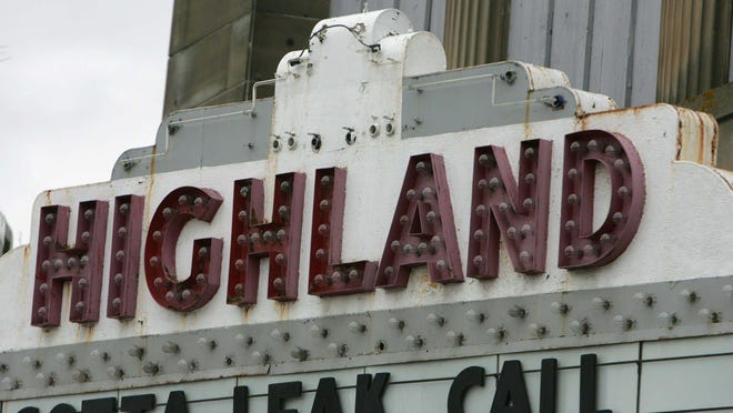 The Highland Theater in Highland Square will reopen on Thursday.