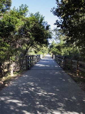 The Blackwater Heritage State Trail is a popular hiking and biking path in the heart of Milton. The trail follows the abandoned railbed of the Florida and Alabama railroad.
