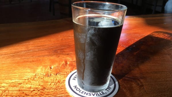 The Lily Flagg Straight to Ale Milk Stout makes for a nice afternoon beverage at Trailhead Beer Market.