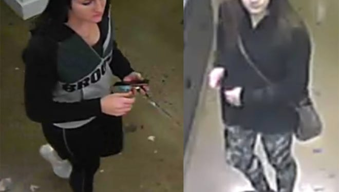 Two women suspected of stealing two pairs of sunglasses valued at $580.00 from Sunglass Hut in Hershey have not been identified. Police are asking for help to identify them.