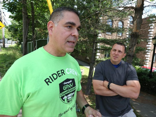 Ramapo Police Officer Omar Olayan and Sgt. Christopher