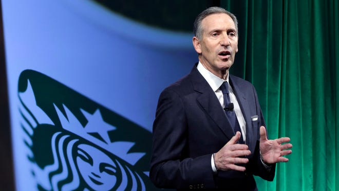 Starbucks executive chairman Howard Schultz is stepping down.