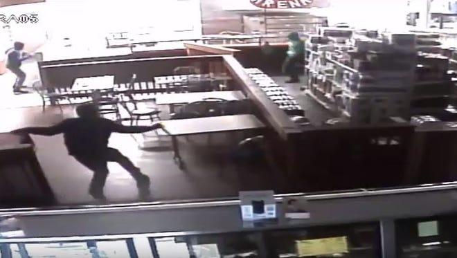 Surveillance video shows a Dec. 30 break-in at Haddon Farmers Market in Camden.