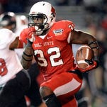 Ball State lost a 1,000-yard receiver from last season's team, but it also has one back in Jordan Williams.