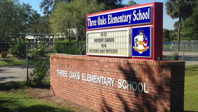 Three Oaks Elementary School was on partial lockdown earlier in the day due to law enforcement activity in the area.