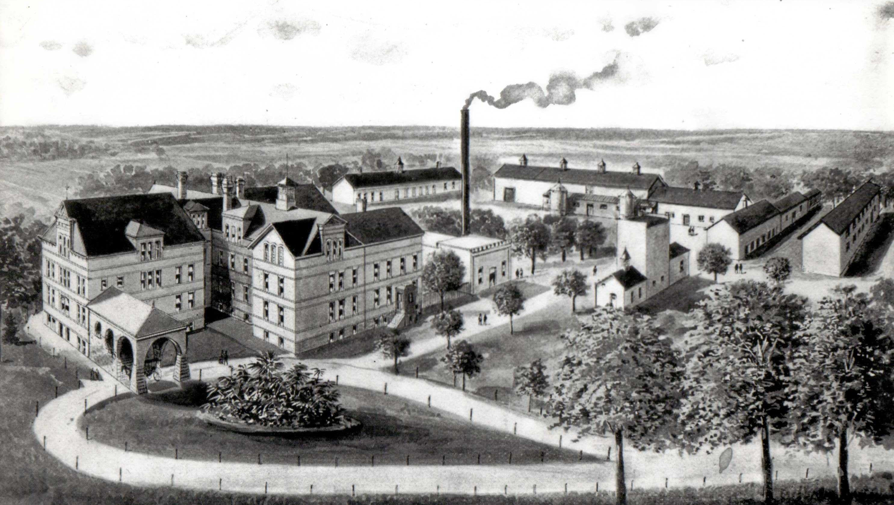Manitowoc County Insane Asylum S Early History