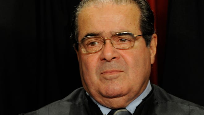 Supreme Court Justice Antonin Scalia.