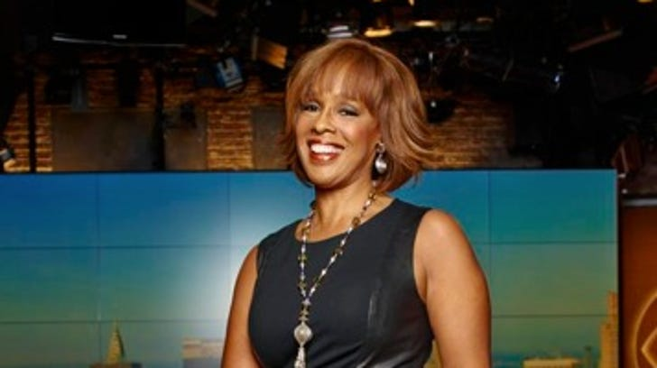 Portrait of Gayle King, CBS News cohost of CBS This Morning. Credit: David Yellen for USA WEEKEND FOR FIRST USE ONLY WITH USA WEEKEND COVER STORY RUNNING OCTOBER 18, 2013. FOR ANY OTHER PRIOR USE PLEASE ASK DAVID BARATZ EXT. 4508