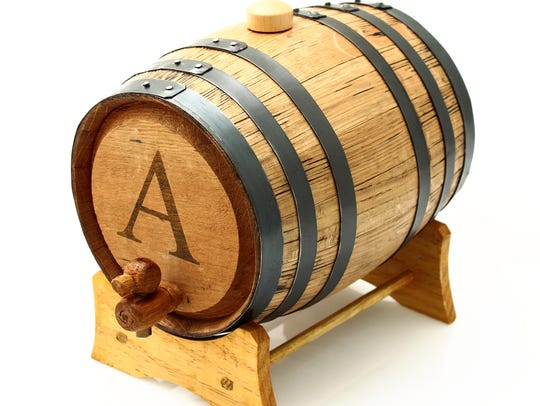 Barrel from Bluegrass Barrels