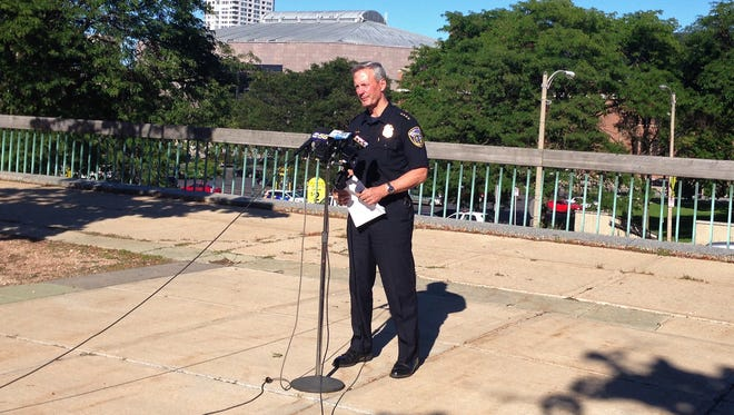 Milwaukee Police Chief Edward Flynn speaks to the media about August's 24 homicides -- the most in any month in 25 years.