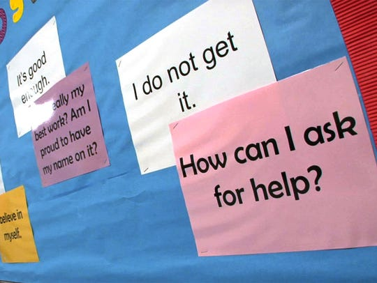 Some of the statements of affirmation shown in the