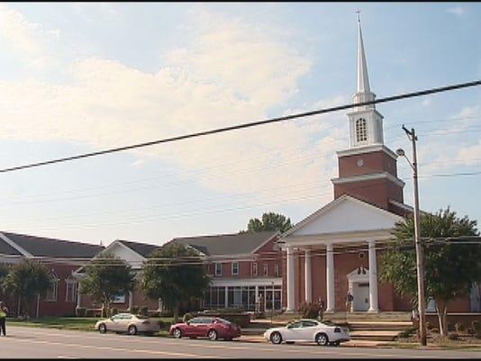 NC church service mourns I-40 bus crash victims