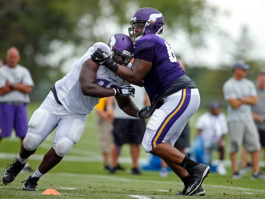 Minnesota Vikings defensive tackle Shamar Stephen (93)
