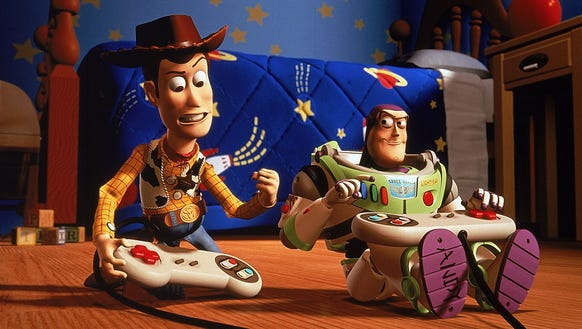 Exclusive How Woody And Buzz Led To Arlo And Spot