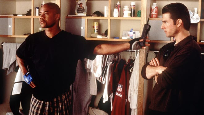 Cuba Gooding Jr. and Tom Cruise in 'Jerry Maguire.'