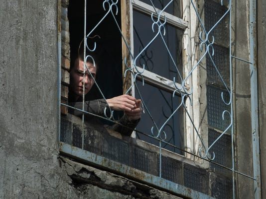 Ukraine Tuberculosis Prisons