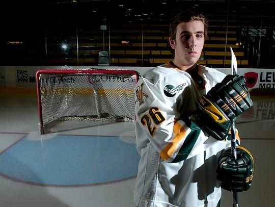 Former UVM men's hockey player Ryan Gunderson has been