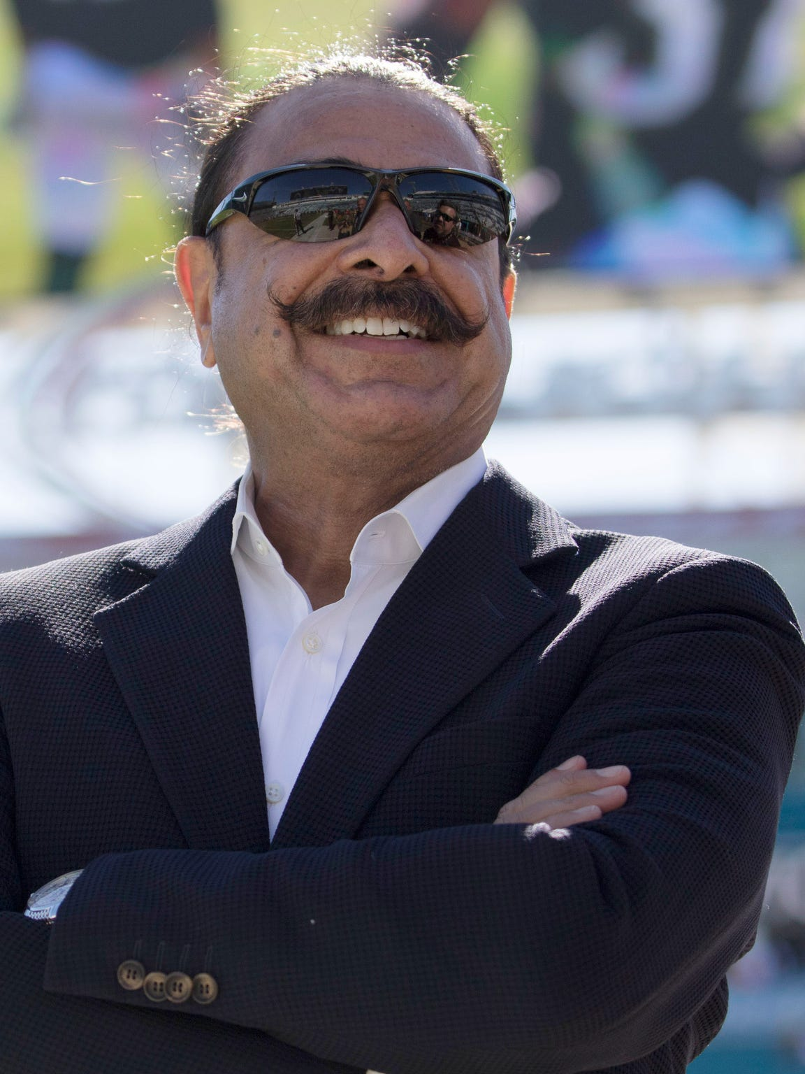 Shad Khan, owner of the Jacksonville Jaguars, is building