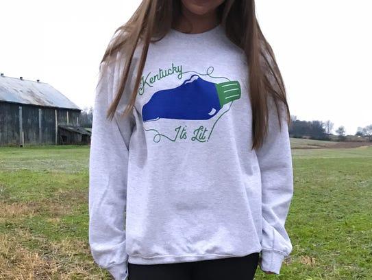 "Buy this ""Kentucky is lit"" sweatshirt ($36) from Shop"