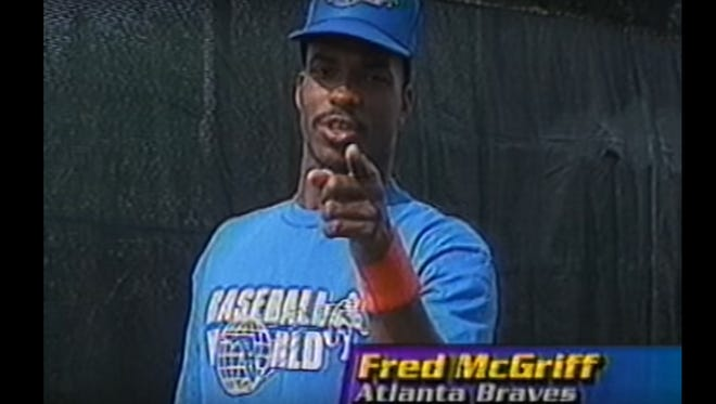Fred McGriff stars in a commercial for Tom Emanski's iconic baseball drills videos.