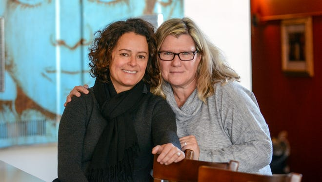 Anne Marie Arroyo and Tamela Greene, shown in their restaurant Moxie Food + Drink in Whitefish Bay, plan to open a pizzeria this summer called Trouble and Sons, at 133 E. Silver Spring Drive. Moxie is at 501 E. Silver Spring.