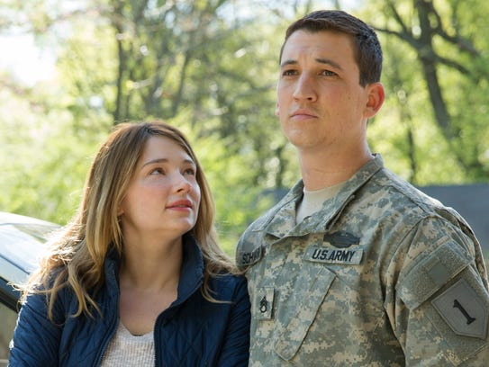 "Haley Bennett and Miles Teller star in ""Thank You for"