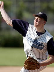 West Bend West pitcher Paul Hoenecke was state player of the year in 2008.